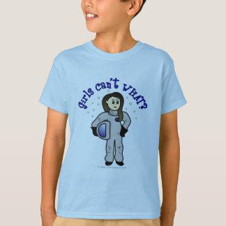 Light Woman Astronaut T-Shirt