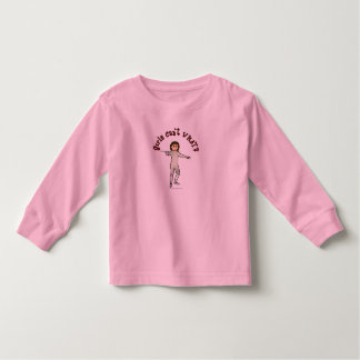 Light Woman Fencing Toddler T-shirt