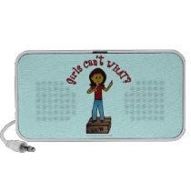 Light Woman on Soapbox iPod Speakers