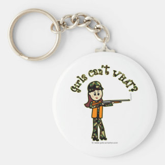 Light Womans Hunting Keychain