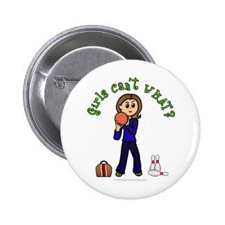 Light Womens Bowling Buttons