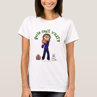 Light Womens Bowling T-Shirt