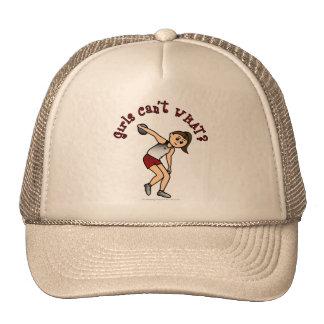 Light Womens Discus Trucker Hats