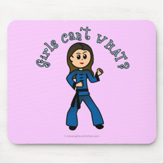 Light Womens Kung Fu Mouse Pad