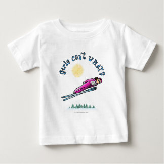 Light Women's Ski Jumping Baby T-Shirt
