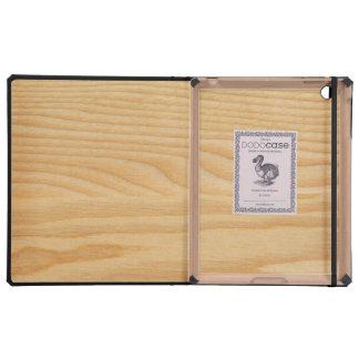 light wood board textures iPad covers