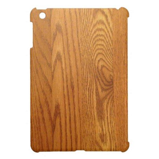 Light wood Grain Design iPad Mini Case