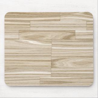 Light Wood Grain Parquet Mouse Pad