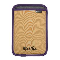 Light wood pattern sleeve for iPad mini