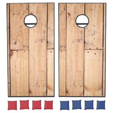 produkto Light Wooden Panel. Cornhole Set