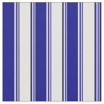 [ Thumbnail: Light Yellow and Blue Colored Lines Fabric ]