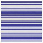 [ Thumbnail: Light Yellow and Blue Pattern Fabric ]