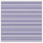 [ Thumbnail: Light Yellow and Dark Slate Blue Pattern Fabric ]