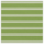 [ Thumbnail: Light Yellow and Green Colored Lines Fabric ]