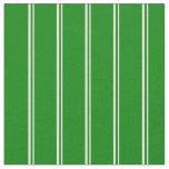 [ Thumbnail: Light Yellow and Green Pattern of Stripes Fabric ]