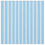 [ Thumbnail: Light Yellow and Light Sky Blue Lines Fabric ]
