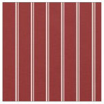 [ Thumbnail: Light Yellow and Maroon Colored Stripes Fabric ]