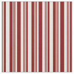 [ Thumbnail: Light Yellow and Maroon Lined/Striped Pattern Fabric ]