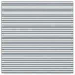 [ Thumbnail: Light Yellow and Slate Gray Colored Stripes Fabric ]