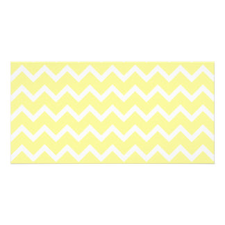 Light Yellow and White Zigzags. Card