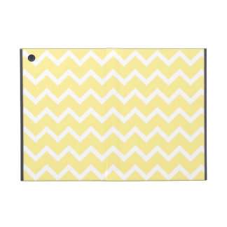 Light Yellow and White Zigzags. iPad Mini Cover