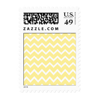 Light Yellow and White Zigzags. Stamp