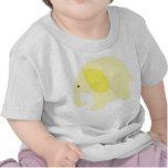 Light Yellow Baby Elephant Tee Shirts