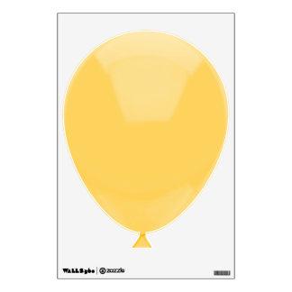 Light Yellow Balloon Wall Sticker