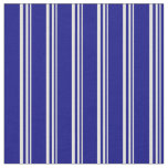 [ Thumbnail: Light Yellow & Blue Lined Pattern Fabric ]