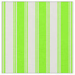 [ Thumbnail: Light Yellow & Chartreuse Stripes/Lines Pattern Fabric ]