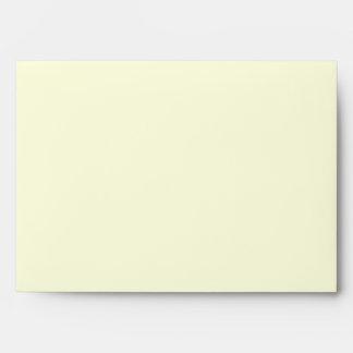 Light Yellow Envelopes
