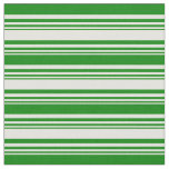[ Thumbnail: Light Yellow & Green Colored Lines Fabric ]
