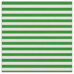[ Thumbnail: Light Yellow & Green Colored Stripes Fabric ]