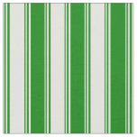[ Thumbnail: Light Yellow & Green Lined Pattern Fabric ]
