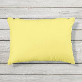 Light Yellow Outdoor Pillow