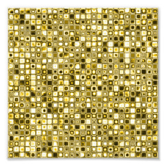 Light Yellow 'Popcorn' Textured Grid Pattern Photograph
