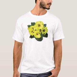 Light Yellow Primroses Men's T-Shirt