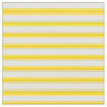 [ Thumbnail: Light Yellow & Yellow Lines Fabric ]