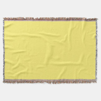 Light Yellow Throw