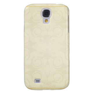 Light Yellowish floral holiday gift Samsung Galaxy S4 Cases