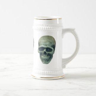 Lightblue Mr. Bone Beer Stein