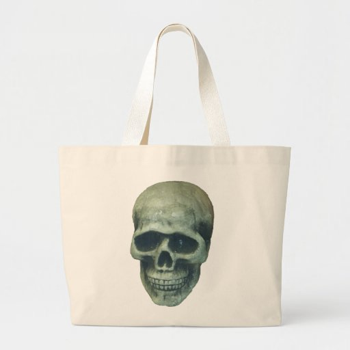 Lightblue Mr. Bone Tote Bag