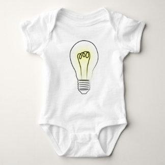 Lightbulb Baby Bodysuit