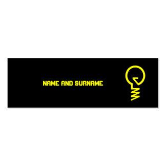 Lightbulb Business Card