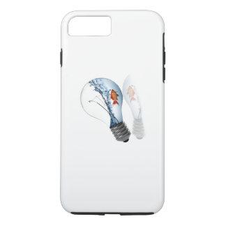 Lightbulb Goldfish Tank iPhone 8 Plus/7 Plus Case