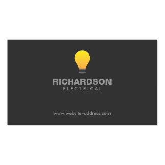 LIGHTBULB LOGO No 2 Business Card