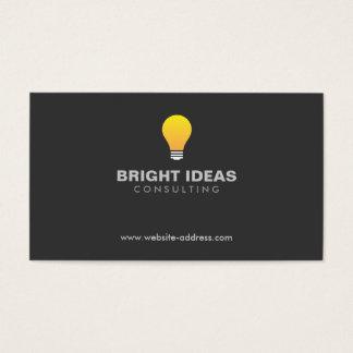 LIGHTBULB LOGO No. 3 Business Card