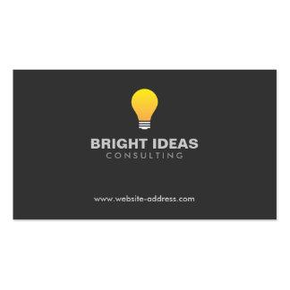 LIGHTBULB LOGO No 3 Business Card