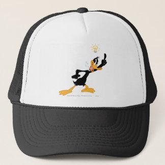 Lightbulb over DAFFY DUCK™'s Head Trucker Hat
