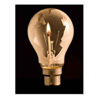 Lightbulb Postcard